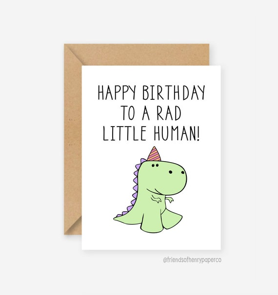 Cool Dinosaur Card Cards For Kids Happy Birthday Funny Kids Etsy Funny Birthday Cards Online Alyptdamsfinfo