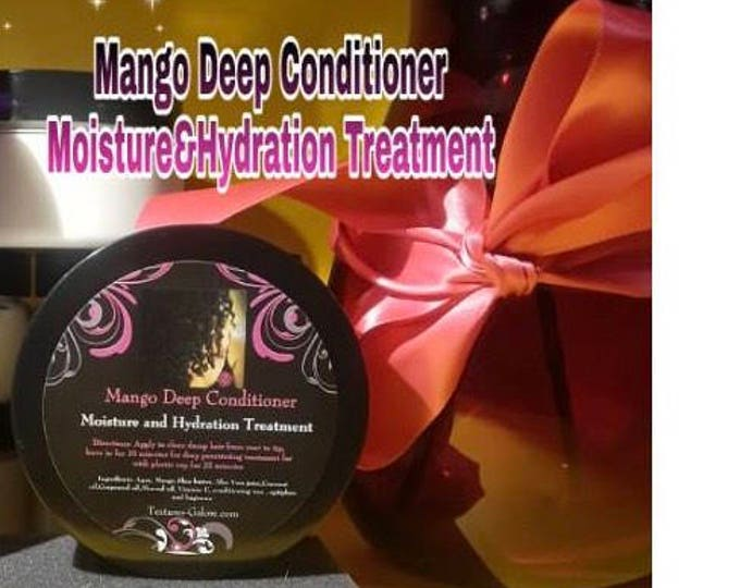Mango Deep Conditioner/ moisture and hydration treatment