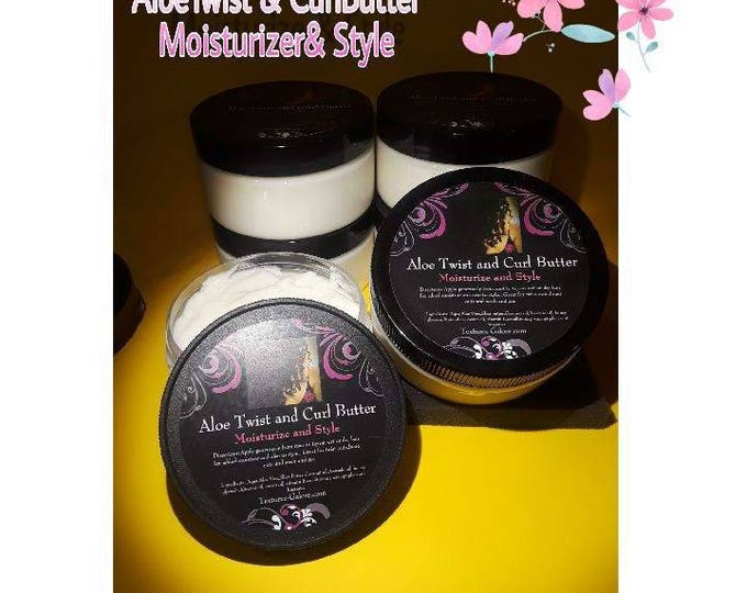 Whipped Aloe Curl cream moisturizer/ twist and curl butter