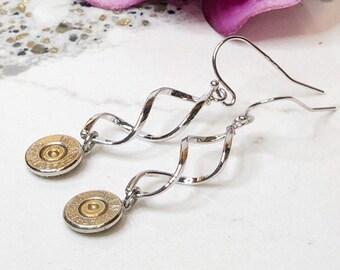 ba7d22d26df8f Silver Bullet twisted Earrings