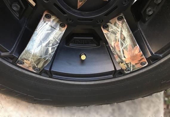 "4 /""Bullet Valve Caps/"" Brand Made In The USA Tire Wheel Valve Stem Cap"