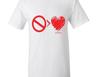 No Greater Love T-Shirt (ALL RED LOGO)
