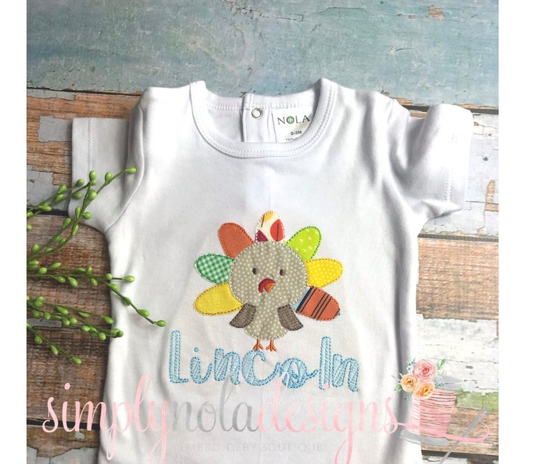 ceebb3d9 Baby's First Thanksgiving Turkey Shirt for boys Baby   Etsy