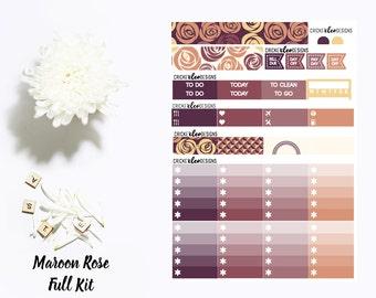 Maroon Rose // Full Kit