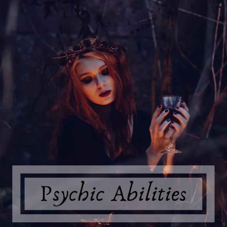Psychic Abilities Reading, Spiritual Talents, Psychic Gifts, Energy  Reading, Clairvoyant, Psychic Reading