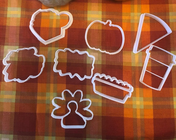 Thanksgiving/ Fall Cookie Cutters