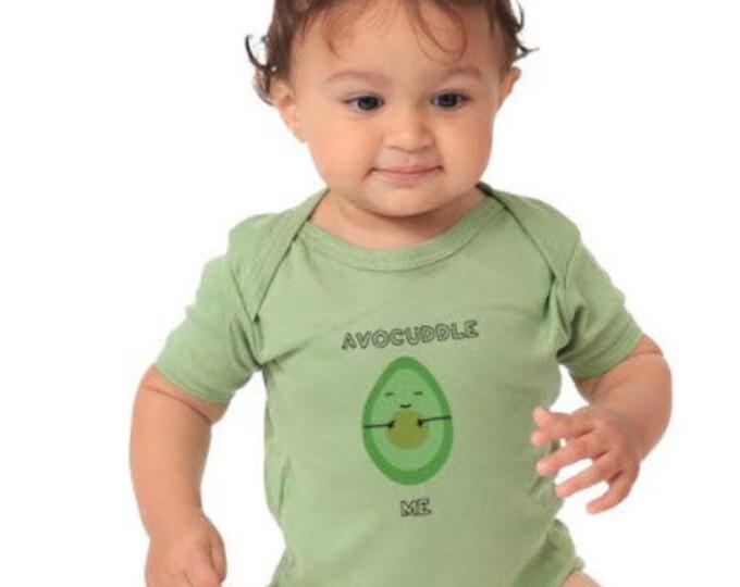 Avocuddle Me Organic Cotton Avocado bodysuit