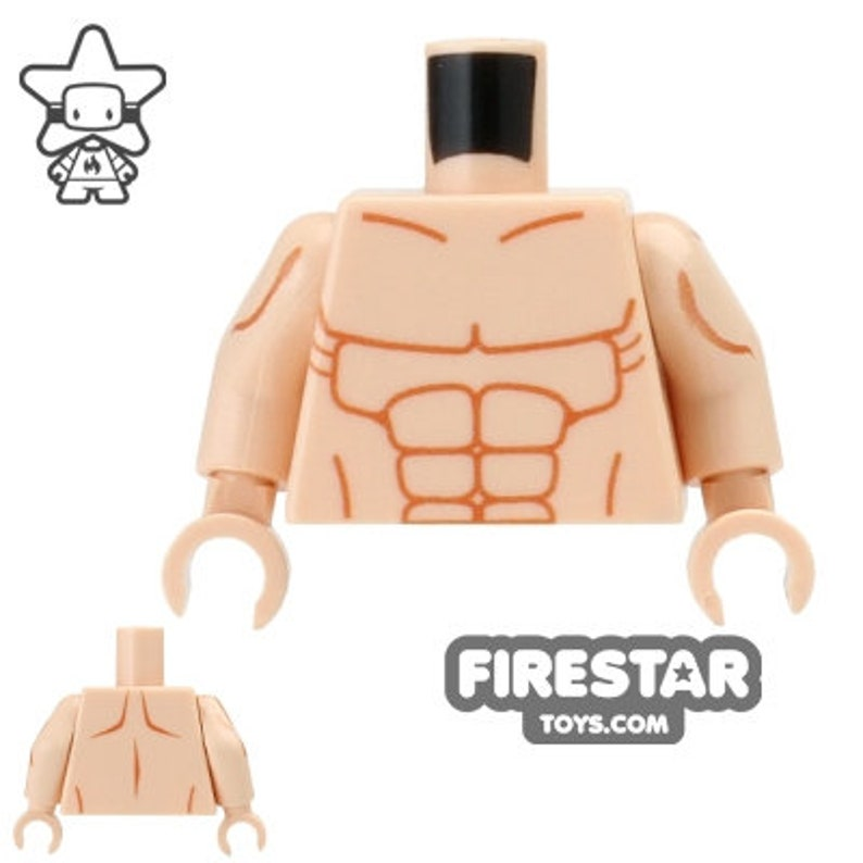 Custom Design Torso - Muscles