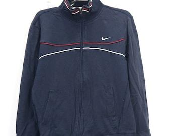 b816847cdd311 Vintage NIKE Zipper Sweater Unisex Nike Athlete Sport wear | Etsy