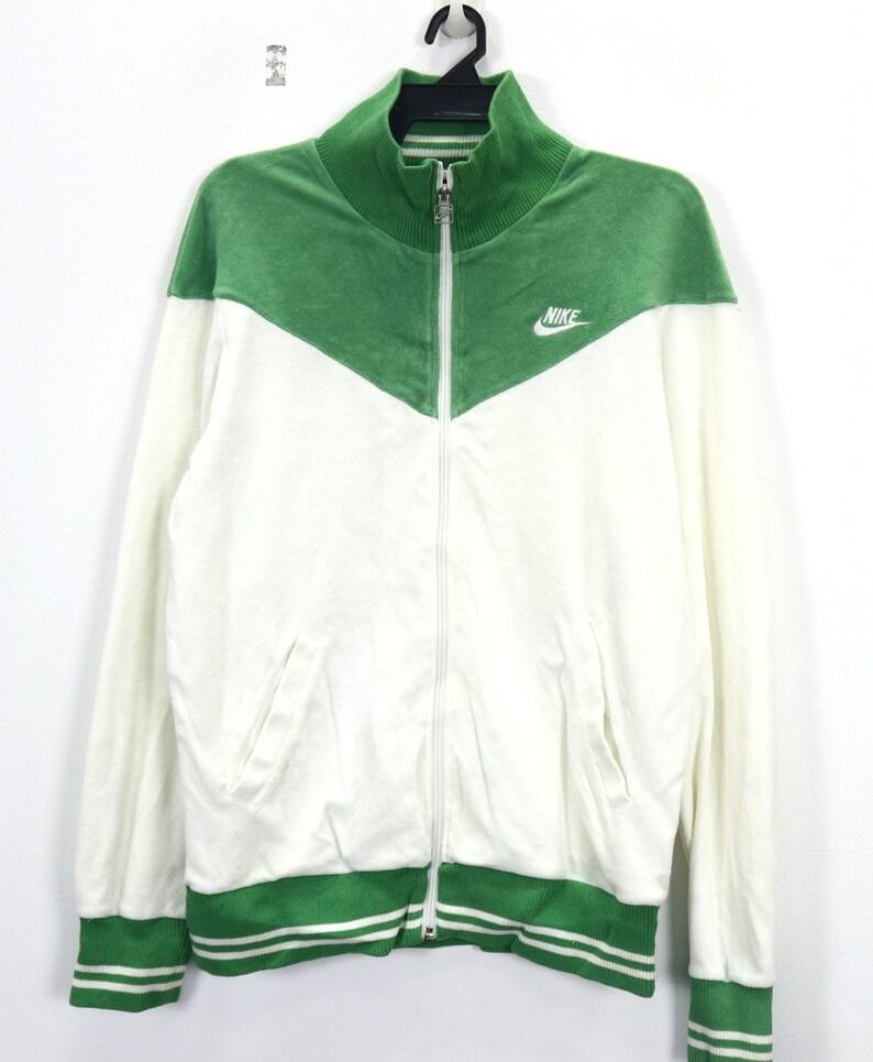 a02a8dc05d658 Vintage NIKE Zipper Up Sweater Unisex Nike Athlete Sport wear Color Block  Turtle Neck Men's Sweatshirt Size Large