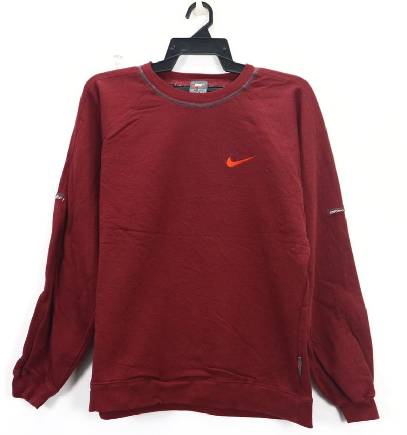 Size Sportswear Hop Vintage Rare Sweatshirt Hip Jumper Wear X Training Nike Retro Air Sweater Street Small 35Aj4RL