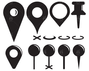 Location Marker Svg Location SVG Mapping Clipart Map Svg Location Sign Svg Pin Drop Svg Maps Vector Location Icon Cut File /& EPS PNG