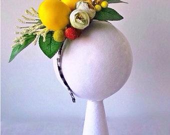 Lemon Headpieces