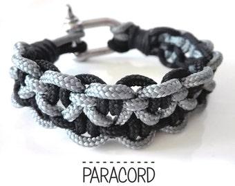 Paracord bracelet. Bracelet for man. Men's bracelet. Rope bracelet
