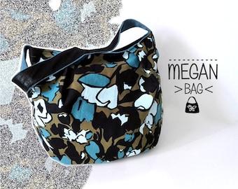 Megan hobo bag. Fantasy Stock Exchange. Bag woman. Soft carrying case.