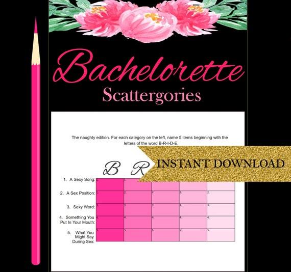 Sexy bachelorette games