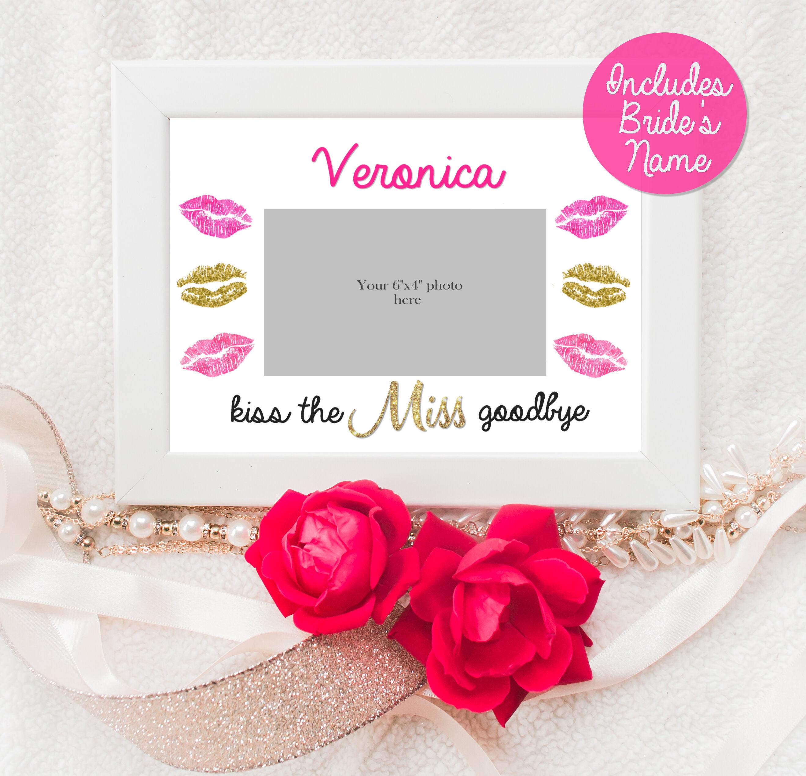 Kuss Miss Abschied Gestaltung Matte Bachelorette Party | Etsy