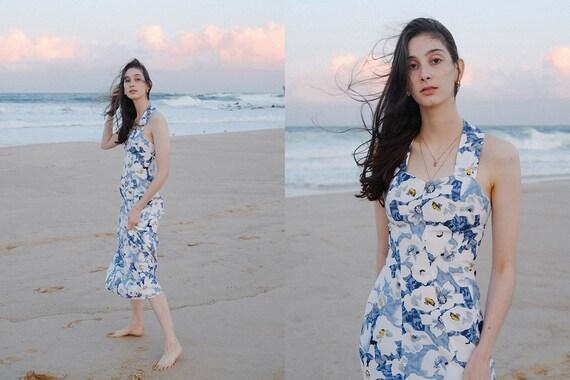 Cotton Floral Dress - '90s Princess Cut - image 4