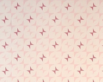 Nursery and Kids Wallpaper Mira - pink and fuscia