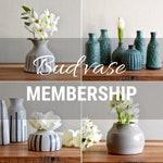 One-year Bud Vase Club Membership