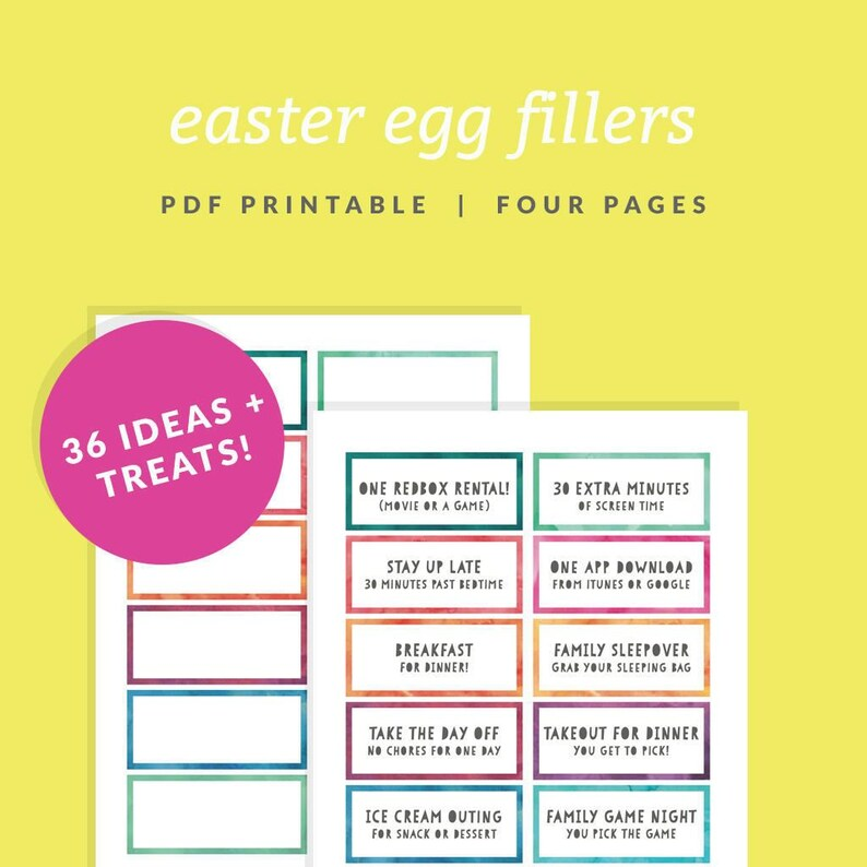 photo relating to Printable Candy Coupons named Easter Egg Filler Discount coupons - Printable Easter Basket Fillers - Immediate Obtain - Watercolor Easter Egg Borders - Easter Sweet Preference