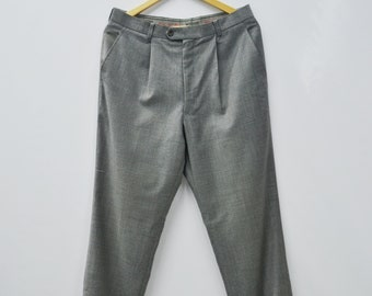 """Moschino Pants Moschino Work Pants W33"""" Vintage Moschino """"Normal but Formal"""" Trousers Moschino Vintage Casual Men's Suit Pants Jeans"""