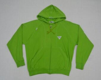 86cdaf5a5d Fila Hoodies Fila Sweater Vintage Fila Sport Sweater Women Size M