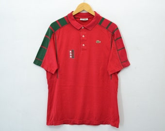 a7f821adc349ab Lacoste Shirt Lacoste Golf Polo Shirt Vintage 90 s Lacoste Golf Shirt Made  In France Men s Size 4