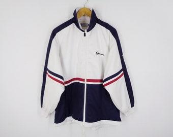 51b18200ac2 Sergio Tacchini Windbreaker Sergio Tacchini Jacket Vintage 90 s Sergio  Tacchini Colorblock Zipper Jacket Size M