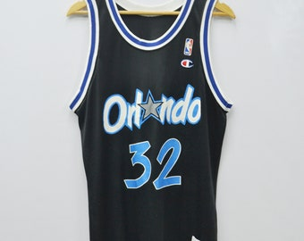 6044980e74a Orlando Magic O'Neal Jersey Vintage Champion Orlando Magic Jersey Made In  USA Champion Vintage Shaquille O'Neal #32 Size 40