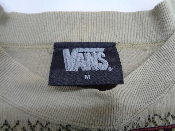 Vans Shirt Vintage Vans T Shirt Vintage Vans Stri… - image 4