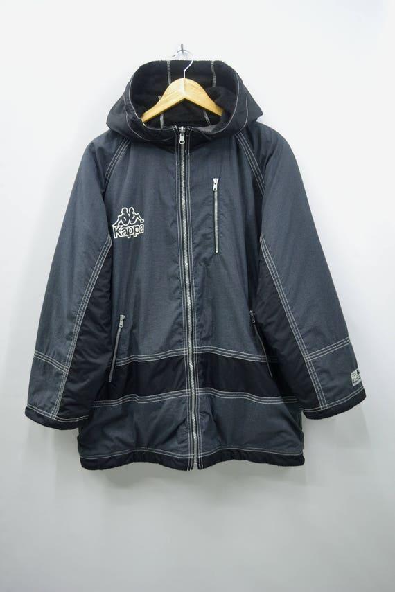 Kappa Jacket Vintage Kappa Windbreaker Vintage 90… - image 3