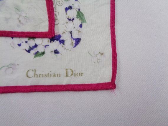 Christian Dior Handkerchief Vintage Christian Dio… - image 3