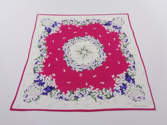 Christian Dior Handkerchief Vintage Christian Dio… - image 2