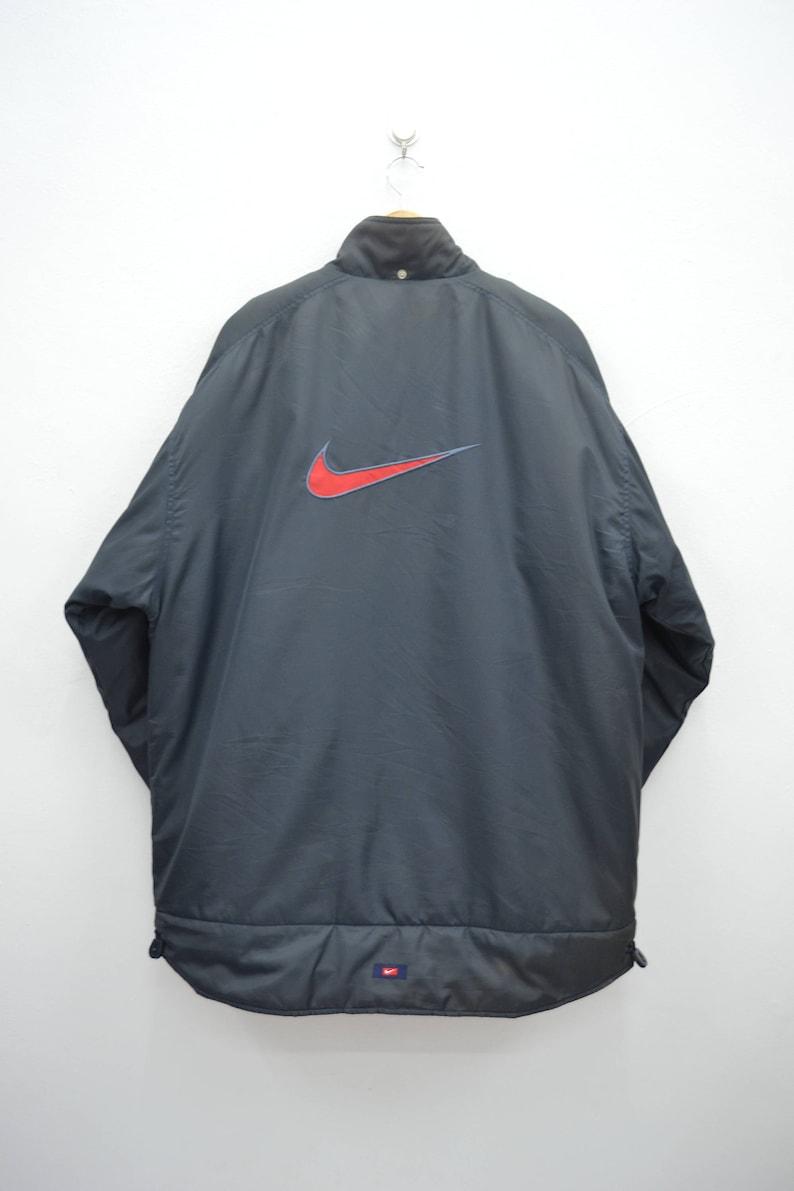 Windbreaker Vintage 90er Etsy Beunruhigt Nike Jacke zBxwqC01