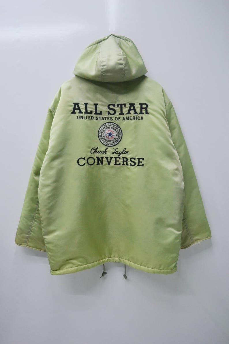 715bc64b5eb7 CONVERSE Jacket Vintage 90 s Converse All Star Chuck
