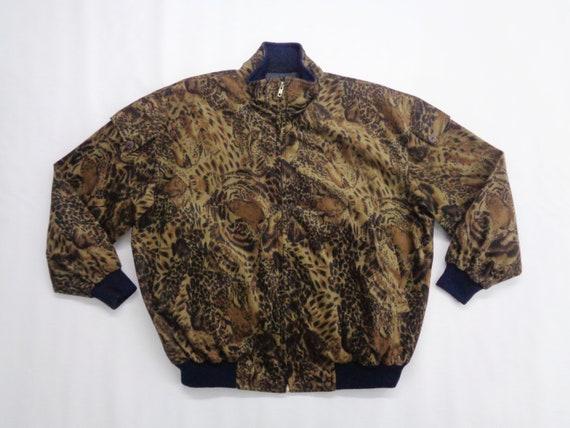 Tiger Jacket Vintage Leopard Jacket Vintage 80s Ti