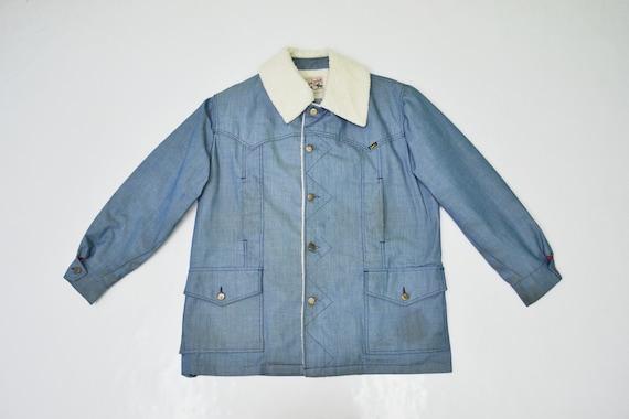 Lee Jacket Distressed Vintage Lee Sherpa Jacket Vi
