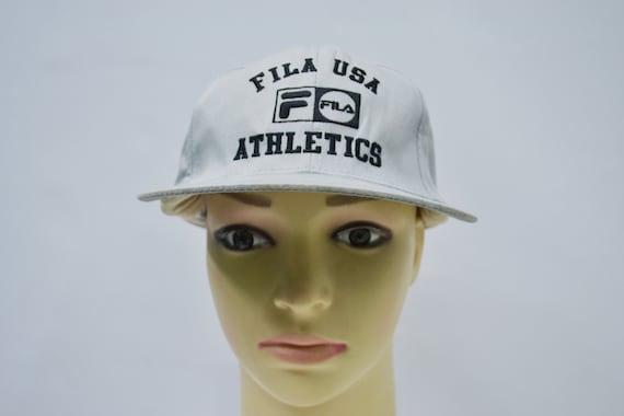 b26dbb8e171 Fila Cap Fila Hat Vintage Fila USA Athletics Hat Fila Vintage