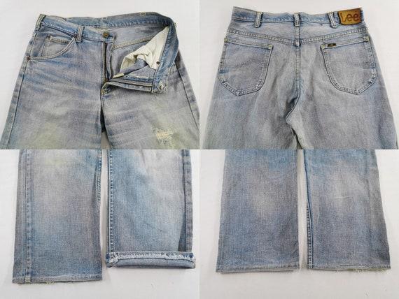 Lee Jeans Distressed Vintage Lee Jeans Pants Vint… - image 6