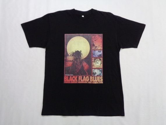 Black Flag Blues Shirt Black Flag Blues T Shirt Bl