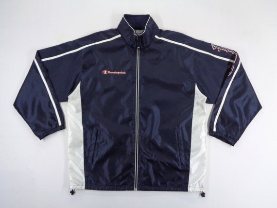 Champion Jacket Size Jaspo O Champion Windbreaker