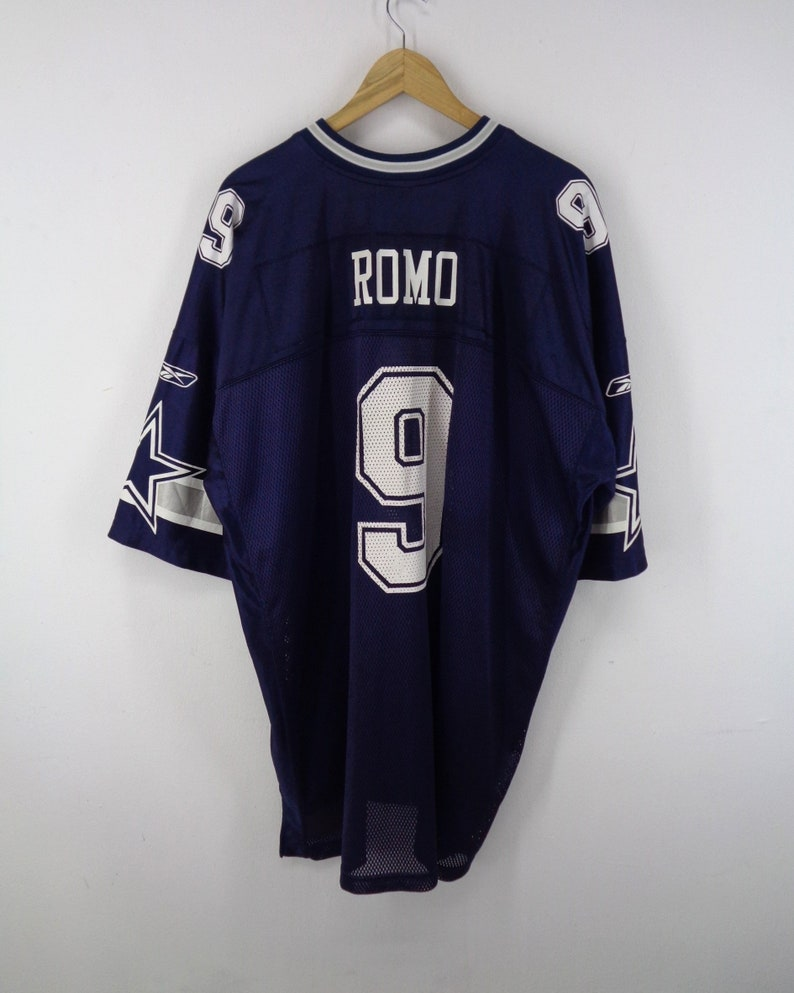 sports shoes 7e4c4 fdab4 Dallas Cowboys Jersey Dallas Cowboys Shirt Reebok Dallas Cowboys Tony Romo  Reebok National Football League NFL Size 3XL