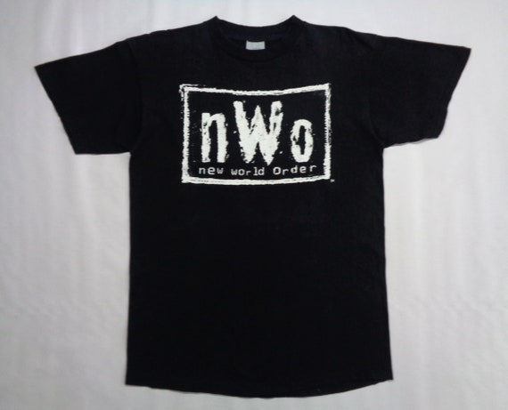 NWO Shirt Vintage NWO T Shirt 90s New World Order