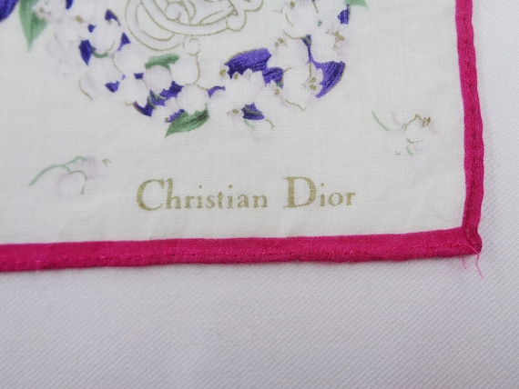 Christian Dior Handkerchief Vintage Christian Dio… - image 4