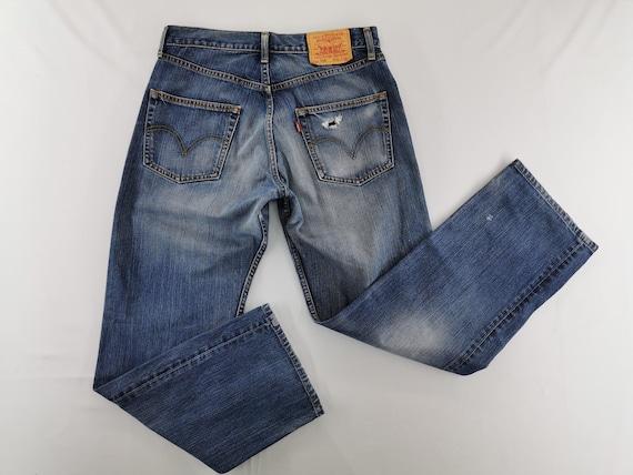 Levis 534 Jeans Distressed Size 32 Levis Denim Lev