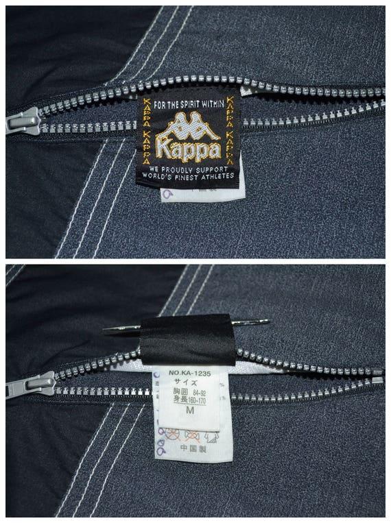 Kappa Jacket Vintage Kappa Windbreaker Vintage 90… - image 8