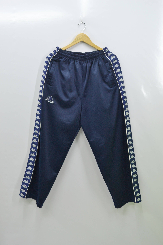 KAPPA Tracksuit Vintage 90's Kappa Taped Logo Track Pants Tracksuit Size L