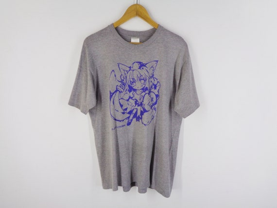 Anime Shirt Vintage Japanese Anime T Shirt Vintage