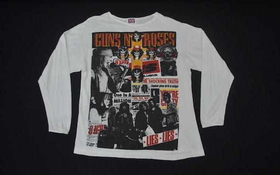 Guns N Roses Shirt Vintage Guns N Roses T Shirt 80